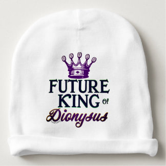 Future King of Dionysus Baby Infant Hat Mardi Gras Baby Beanie