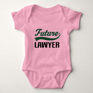 Future Lawyer (Cute) Baby Bodysuit