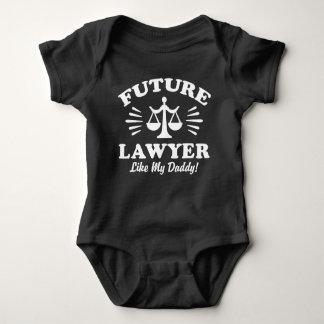 Future Lawyer Like My Daddy Baby Bodysuit