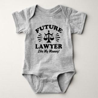 Future Lawyer Like My Mommy Baby Bodysuit