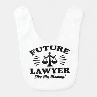 Future Lawyer Like My Mommy Bib
