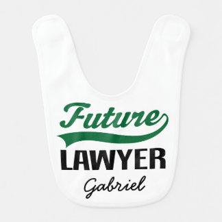 Future Lawyer Personalized Baby Bib
