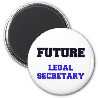 Future Legal Secretary Refrigerator Magnets