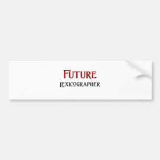 Future Lexicographer Bumper Sticker
