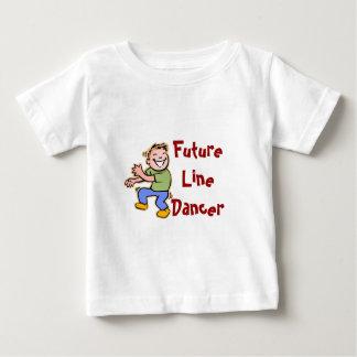 Future Line Dancer! - Baby Boy Baby T-Shirt