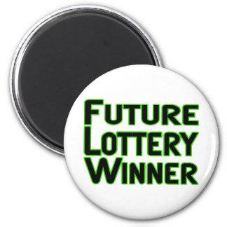Future Lottery Winner Magnet