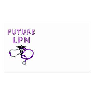 Future LPN Business Card Templates