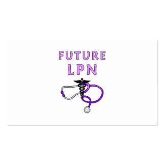 Future LPN Pack Of Standard Business Cards