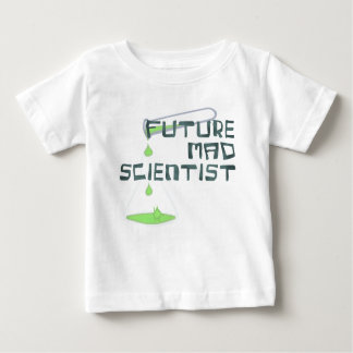 Future Mad Scientist Baby T-Shirt