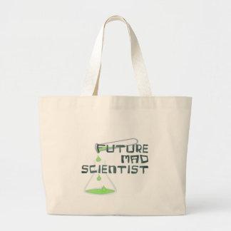 Future Mad Scientist Large Tote Bag