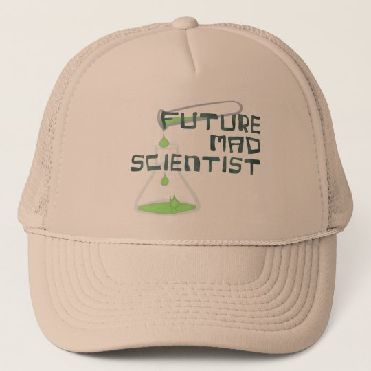 Future Mad Scientist Trucker Hat