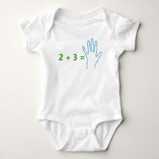 """Future Mathematician"" Humorous, basic math Baby Bodysuit"