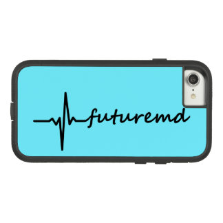 Future MD EKG Line & Personalized Color Background Case-Mate Tough Extreme iPhone 8/7 Case