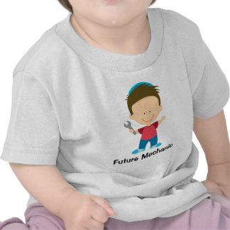 Future Mechanic Boy Kids Occupation Gift Tee Shirts