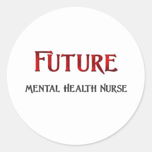 Future Mental Health Nurse Sticker