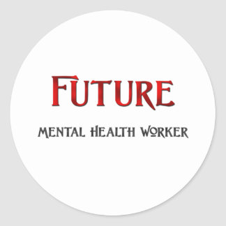 Future Mental Health Worker Stickers