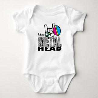 Future Metal Head crawler. Shirt