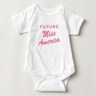 Future Miss America | Girl baby clothing Baby Bodysuit