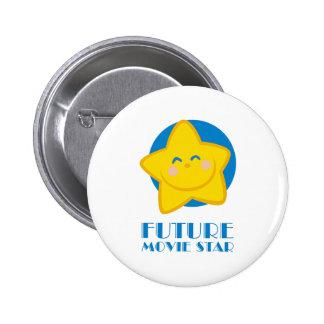 Future Movie Star 6 Cm Round Badge