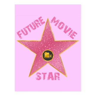 FUTURE MOVIE STAR POSTCARD