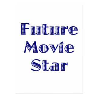 Future Movie Star Postcards
