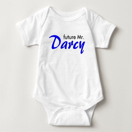 Future mr Darcy Baby Bodysuit