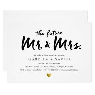 Future Mr. & Mrs. | Engagement Party Invite