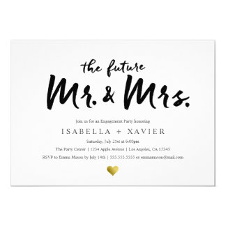 Future Mr. & Mrs. | Engagement Party Invite