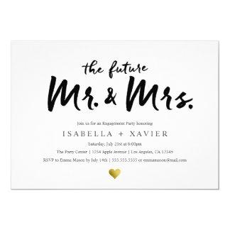 Future Mr. & Mrs.  Engagement Party Invite