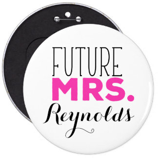 Future Mrs 6 Cm Round Badge