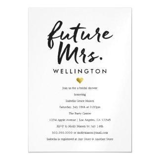 Future Mrs. | Bridal Shower Invitation Magnetic Invitations