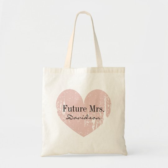 Future Mrs bridal tote bag for bride to