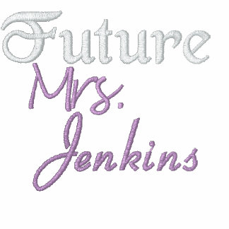 Future Mrs Custom Last Name Embroidered Jacket