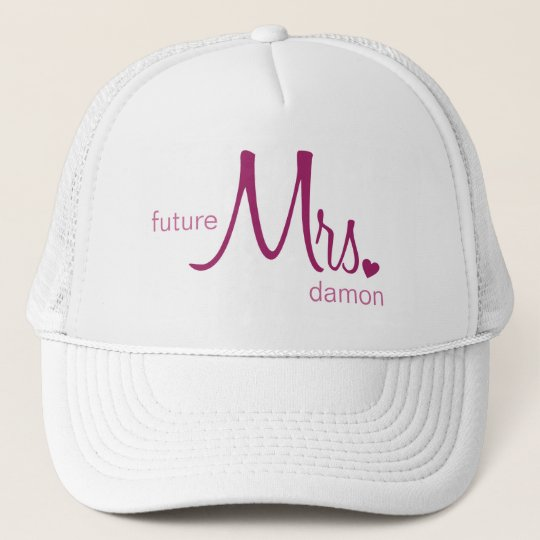 Future Mrs. Customisable Hat