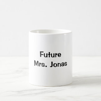 Future Mrs. Jonas Coffee Mug