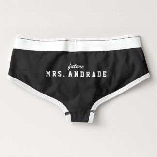 Future Mrs Panties for Bridal Shower Gift