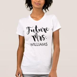 Future Mrs. | Personalized Wedding T-Shirt