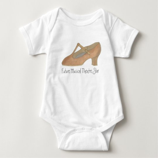 Future Musical Theatre Star Dance Character Shoe Baby
