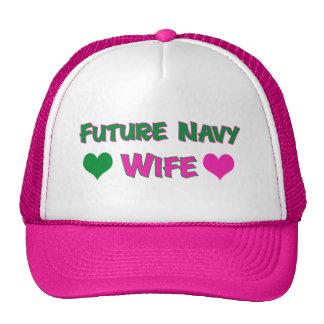 Future Navy Wife Mesh Hat