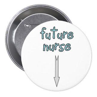 future nurse 7.5 cm round badge