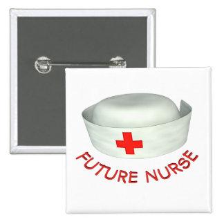 Future Nurse 15 Cm Square Badge