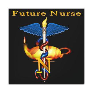 Future Nurse Gallery Wrap Canvas