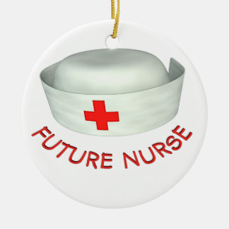 Future Nurse Christmas Ornament