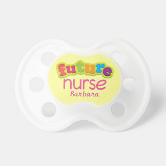 Future Nurse Personalized Baby Shower Nursing Gift Dummy