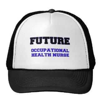 Future Occupational Health Nurse Trucker Hats