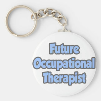 Future Occupational Therapist Basic Round Button Key Ring