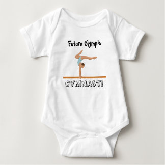 Future Olympic Gymnast! Baby Bodysuit