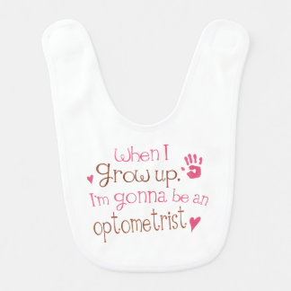 Future Optometrist Baby Bib