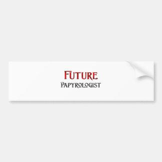 Future Papyrologist Bumper Stickers