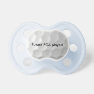 Future PGA player baby pacifier